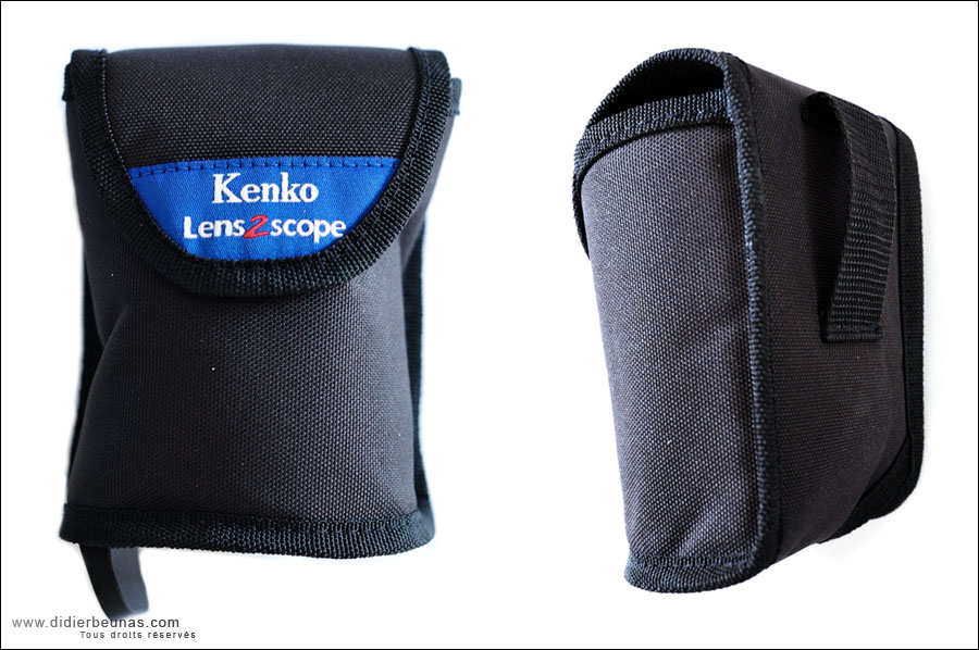pochette lens2scope